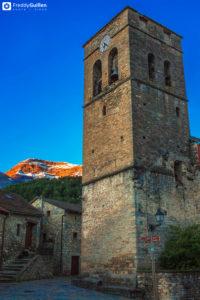 Pueblo de Fiscal provincia de Huesca
