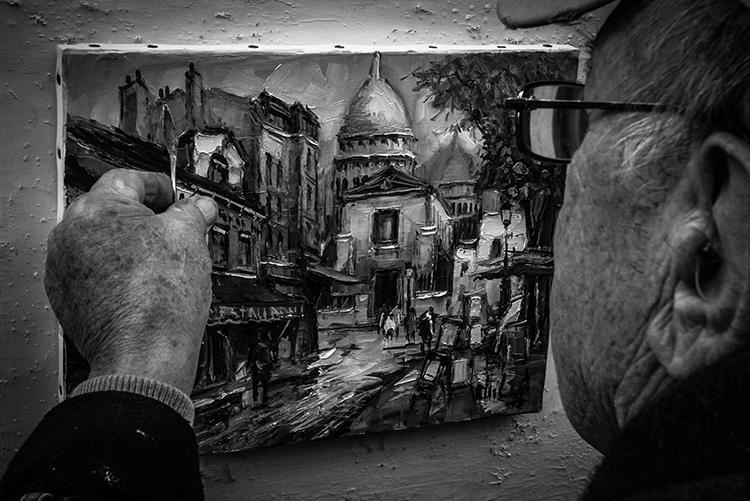 Pintor en Paris